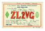 NEW ZEALAND QSL card ZL2VG. - 31139 - Postcard