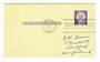 USA 1958 Reply paid card. First day of issue. - 31147 - FDC