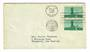 USA 1959 Oregon Statehood on first day cover. - 31149 - PostalHist