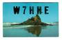 USA QSL Card      W7HHE.. - 31150 - Postcard
