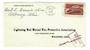 USA 1958 Letter to Wooster. Missent to Gloucester. - 31151 - PostalHist