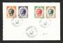 MONACO 1960 Definitives. Set of 4 issued on 1/6/1960 on first day card. - 31250 - FDC