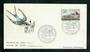 FRANCE 1970 Royal Salt Springs on first day cover. - 31264 - FDC