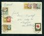 NETHERLANDS 1953 Cover to New Zealand with the 1953 Child Welfare set of 5. - 31280 - PostalHist