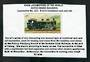 NETHERLANDS INDIES Rack Locomotive #107. 0-10-0 Combined Rack and Rail. Cigarette card. - 31290 -