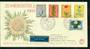 NETHERLANDS 1960 Cultural Health and Social Welfare Funds. Set of 5 on first day cover. - 31300 - FDC