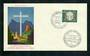 WEST GERMANY 1960 Oberammergau Passion Play on first day cover. - 31332 - PostalHist