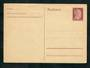 GERMANY 1941 Postkarte 15pf Claret in mint condition. - 31335 - PostalHist