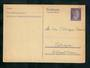GERMANY 1941 Postkarte mit Antwortkarte 6 pf Purple. - 31336 - PostalHist