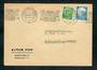 WEST GERMANY 1954 Special Postmark Munich Festival. Cover to Switzerland. - 31337 - PostalHist