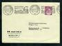 WEST GERMANY 1954 Special Postmark Munich Oktoberfest. Cover to Switzerland. - 31340 - PostalHist