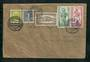 WEST BERLIN 1956 Letter to New Zealand with full set of the 1955 Bishopric set. Regular mail. - 31341 - PostalHist