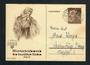 GERMANY 1938 Winter Relief Fund Postcard 6pf+4pf Brown. - 31356 - PostalStaty