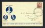 NEW ZEALAND 1938 Geo 6th Definitive 1½d on first day cover. Very tidy. - 31403 - FDC