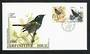 NEW ZEALAND 1985-1987 Birds. Set of 4 first day covers. - 31406 - FDC