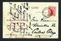 NEW ZEALAND Postmark Dunedin WAIKOUAITI. H Class cancel on postcard. - 31451 - Postmark