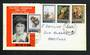NEW ZEALAND 1973 Frances Hodgkins. Set of 4 on illustrated first day cover. - 31452 - FDC