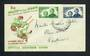 NEW ZEALAND 1946 Health. Set of 2 on first day cover. - 31500 - FDC