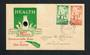NEW ZEALAND 1940 Health. Set of 2 on illustrated first day cover. - 31512 - PostalHist