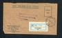 NEW ZEALAND 1971 Registered Letter Official Paid from Otahuhu to Auckland. - 31524 - PostalHist