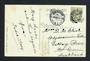 GREAT BRITAIN 1908 Postcard to New Zealand. Redirected. - 31525 - PostalHist