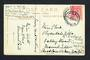 SOUTH AFRICA 1914 Postcard to New Zealand. Redirected. - 31529 - PostalHist