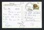 NEW ZEALAND Postmark Greymouth SHANTYTOWN on postcard. - 31563 - Postmark