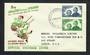 NEW ZEALAND 1944 Health. Set of 2 on illustrated first day cover. - 31573 - PostalHist