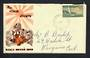 NEW ZEALAND 1951 Health 2d on illustrated first day cover. - 31574 - PostalHist