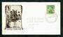 SAMOA 1935 Definitive ½d Green on illustrated first day cover. - 31614 - FDC