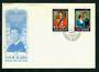 COOK ISLANDS 1981 Royal Wedding of Prince Charles and Lady Diana Spencer. Set of 2 on first day cover. - 31624 - FDC
