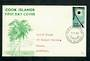 COOK ISLANDS 1965 Solar Eclipse on first day cover. - 31625 - FDC