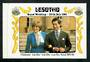 LESOTHO 1981 Royal Wedding of Prince Charles and Lady Diana Spencer. Stamp Booklet stiched. - 31666 - Booklet