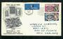 GREAT BRITAIN 1960 Europa. Set of 2 on first day cover. - 31734 - FDC