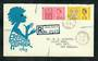 GREAT BRITAIN 1963 Freedom from Hunger. Set of 2 on first day cover. - 31747 - FDC