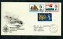 GREAT BRITAIN 1963 International Life-Boat conference. Set of 3 on first day cover. - 31756 - FDC
