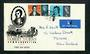 GREAT BRITAIN 1966 Robbie Burns. Set of 2 on first day cover. - 31785 - FDC