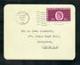 GREAT BRITAIN 1961 Commonwealth Parliamentary Conference. Set of 2 on first day cards. - 31788 - PostalHist