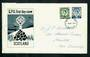 SCOTLAND 1967 Definitives. Set of 2 on first day cover. - 31790 - FDC