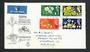 GREAT BRITAIN 1964 International Botannical Congress. Set of 4 on illustrated first day cover. - 31801 - FDC