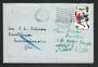 GREAT BRITAIN 1966 Internal Letter. Redirected twice. - 31813 - PostalHist