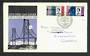 GREAT BRITAIN 1964 Forth Road Bridge. Set of 2 on illustrated first day cover with Modern Coloured Postcard of the bridge. - 318