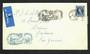 GREAT BRITAIN 1963 Airmail Letter from Paisley to New Zealand on illustrated cover with special postmark and postcard all relati