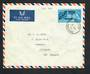 GREAT BRITAIN 1963 Opening of Compac Cable on first day cover airmail to New Zealand. - 31842 - FDC