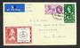 GREAT BRITAIN 1960 Tercentenary of the Establishment of the General Letter Office. Set of 2 on first day cover with London Inter