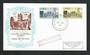 IRELAND 1968 800th Anniversary of St Mary's Cathedral. Set of 2 on first day cover. - 31856 - FDC