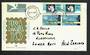 SOUTH AFRICA 1971 Stamp Exhibition and antarctic Treaty. Set of 2 on first day cover. - 31988 - FDC