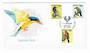 AUSTRALIA 1980 Birds. Set of 3 issued on 31/3/1980 on first day cover. - 32011 - FDC