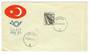 TURKEY 1960 Definitive 75c Deep Olive on first day cover. Cancelled at GALATA of New Testament fame. - 32043 - PostalHist