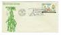 PHILIPPINES 1965 4th Centenary of Christianity in the Philippies on first day cover. - 32048 - FDC